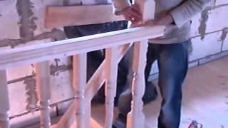 ЛЕСТНИЦА С ПЛОЩАДКОЙ 2(Как сделать лестницу на второй этаж.В этом видео вы можете понять что нужно в изготовлении лестницы.такую..., 2015-06-09T06:19:21.000Z)