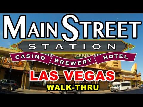 Las Vegas Main Street Station Casino Walk-Thru