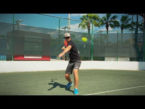 Daniel Berger, from the golf course to the tennis court
