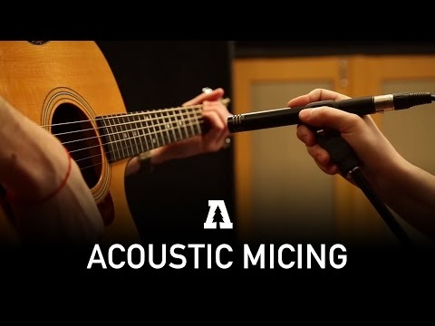 How We Record Acoustic Instruments - Audiotree Behind the Scenes