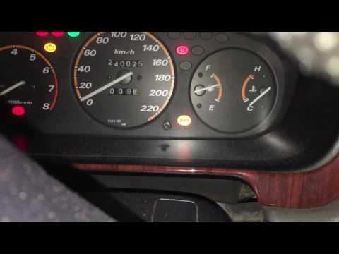 Заводим в мороз -40 Honda C-RV RD1