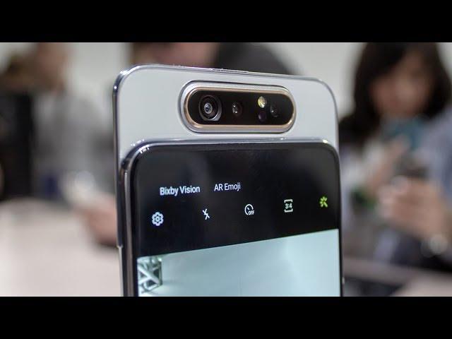 Samsung Galaxy A70 & A80   طفرة سامسونج الجديدة