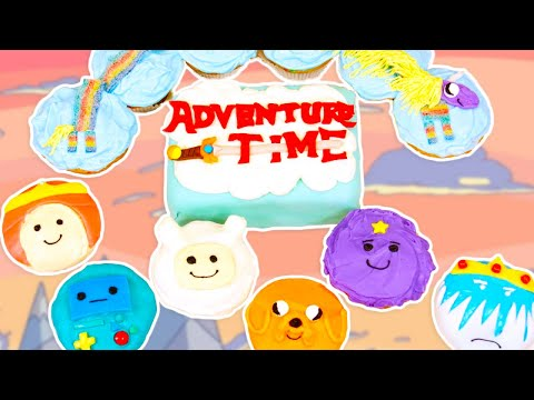 Make ADVENTURE TIME CUPCAKES- NERDY NUMMIES Screenshots
