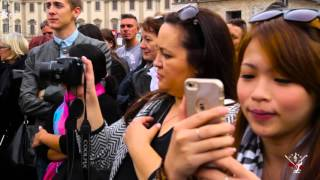 Cccorchestra live in Milan: flash-mob in Piazza Duomo