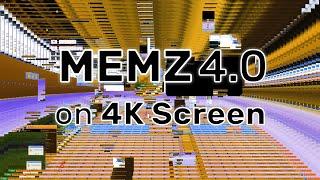 memz on windows xp on a 4k monitor