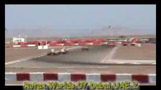 Rotax Worlds 07 Dubai UAE 2