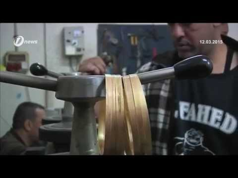 Gaza City Recycled Gold Jewellery to Keep Business Running