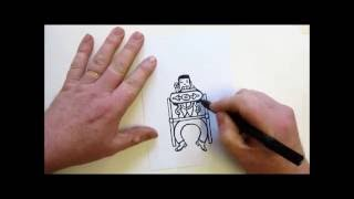 How to draw a Time Machine