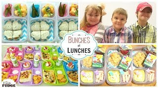 AWESOME END of SUMMER LUNCHES 🍎 Bunches of Lunches