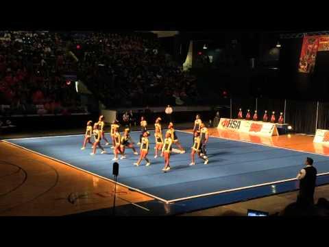 Thornwood Coed Varsity Cheer @ State 2016 Day 1