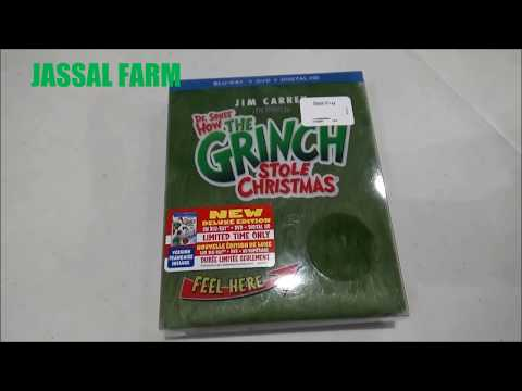 Dr. Seuss How The Grinch Stole Christmas Blu-Ray GRINCHMAS Edition Unboxing!