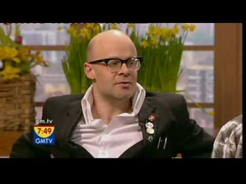 GMTV - Harry Hill talks about fair trade bananas (27.02.08)
