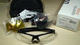 UVEX Radical Pro Sport Brille - Anti Fog/Anti Beschlag (deutsch)