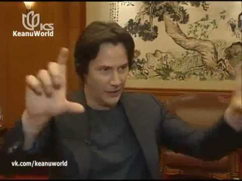 2013 Keanu Reeves talks about Tai Chi Philosophy