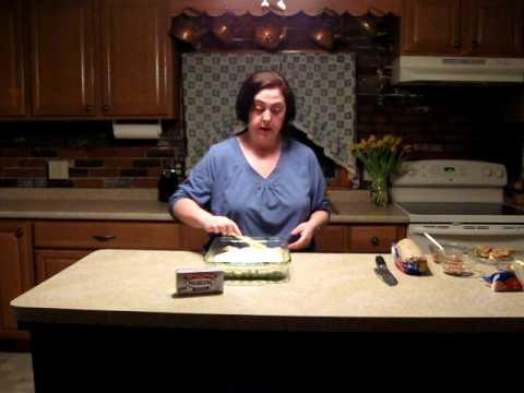 Debra Stewart's Chocolate Chip Cheesecake Bars.avi