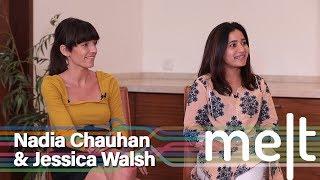 Melt   Episode 31   Nadia Chauhan & Jessica Walsh