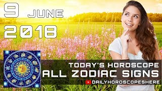 Free Daily Horoscope for 9 June 2018