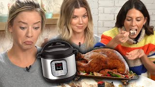 ATTEMPTING TO COOK A TURKEY IN AN INSTANT POT