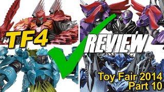 Toy Fair 2014 Part 10 - Transformers AOE Shopping List - [TF4 News #101]