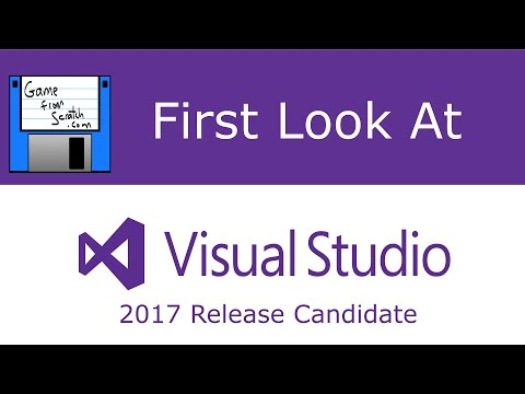 First Look at Visual Studio 2017