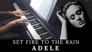 Set Fire to the Rain - Adele (Piano Accompaniment) by aldy32