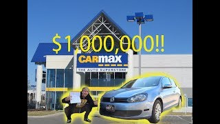 TAKING MY HEAVILY MODIFIED VW GOLF TO CARMAX **THEY OFFERED ME HOW MUCH??**