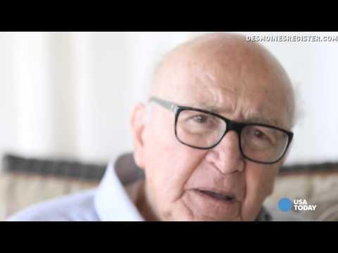 Holocaust survivor recalls the lie that saved his life