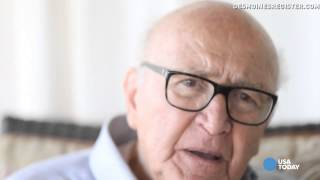 Holocaust survivor recalls the lie that saved his life