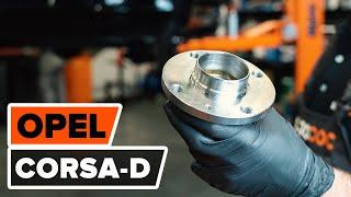 Come sostituire Kit cuscinetto ruota OPEL CORSA D - video gratuito online