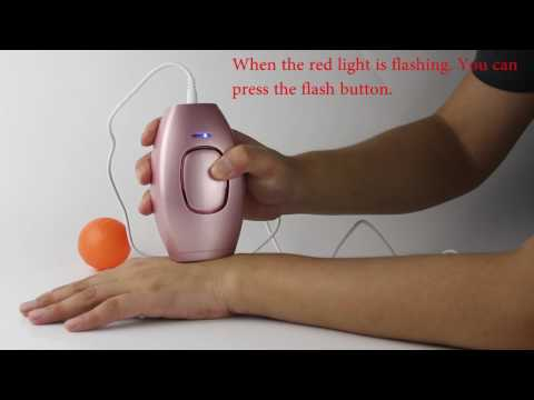 How To Use Mini Permanent Hair Removal Device
