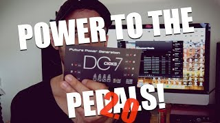 POWER TO THE PEDALS 2.0 - Powering the Line 6 HX Stomp (and a few other pedals) using the Cioks DC7!