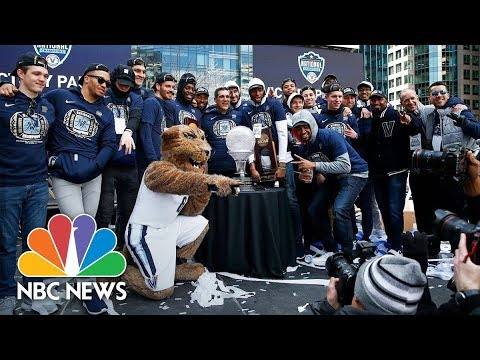 NCAA Champs Villanova Honored With Victory Parade In Philadelphia | NBC News