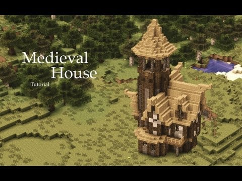 Minecraft medieval house tutorial design 1 horrible for Classic house tutorial