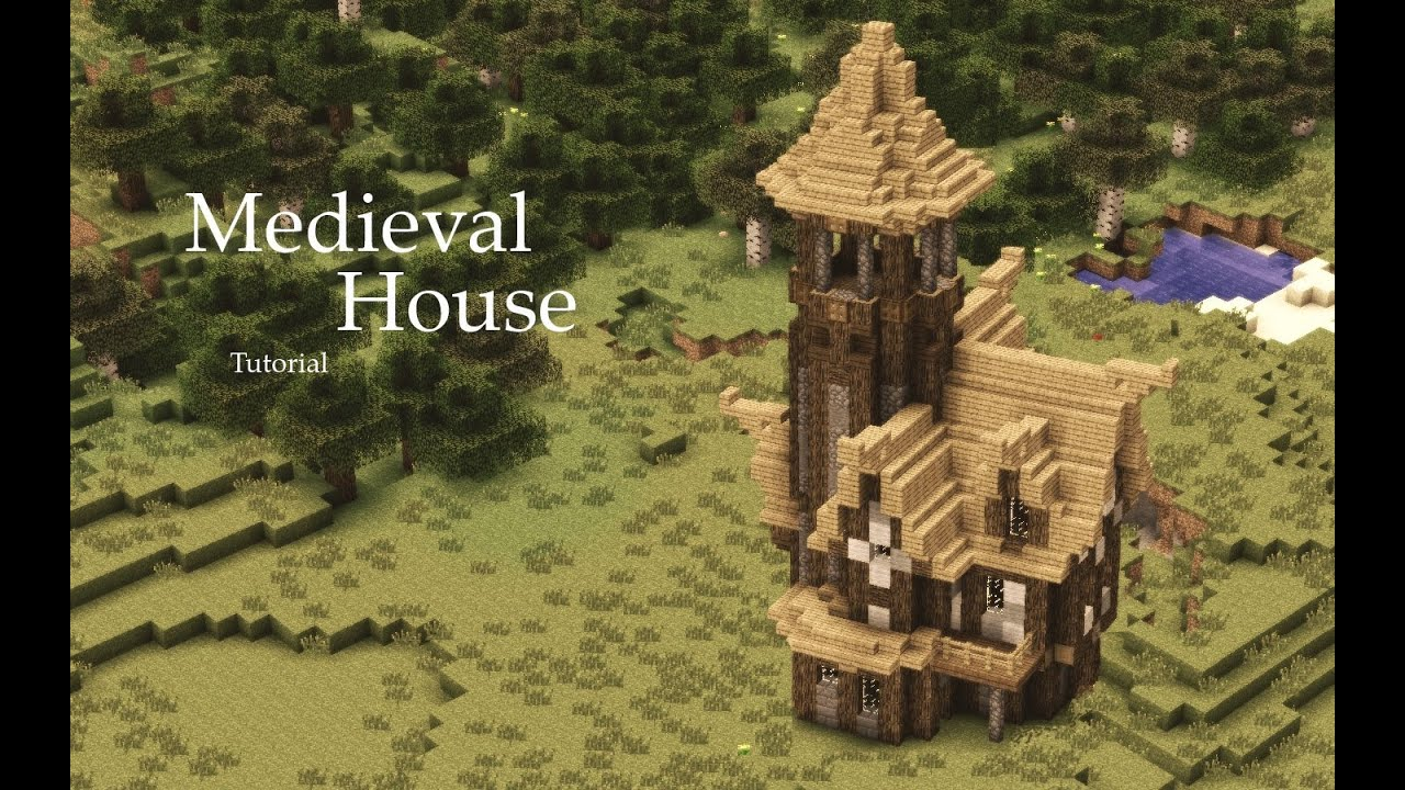 Minecraft Medieval House Tutorial Design 1 Horrible