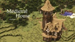 Minecraft: Medieval House Tutorial Design #1 YouTube