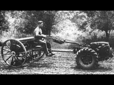 История советского МОТОБЛОКА (ОДНООСНОГО ТРАКТОРА!)