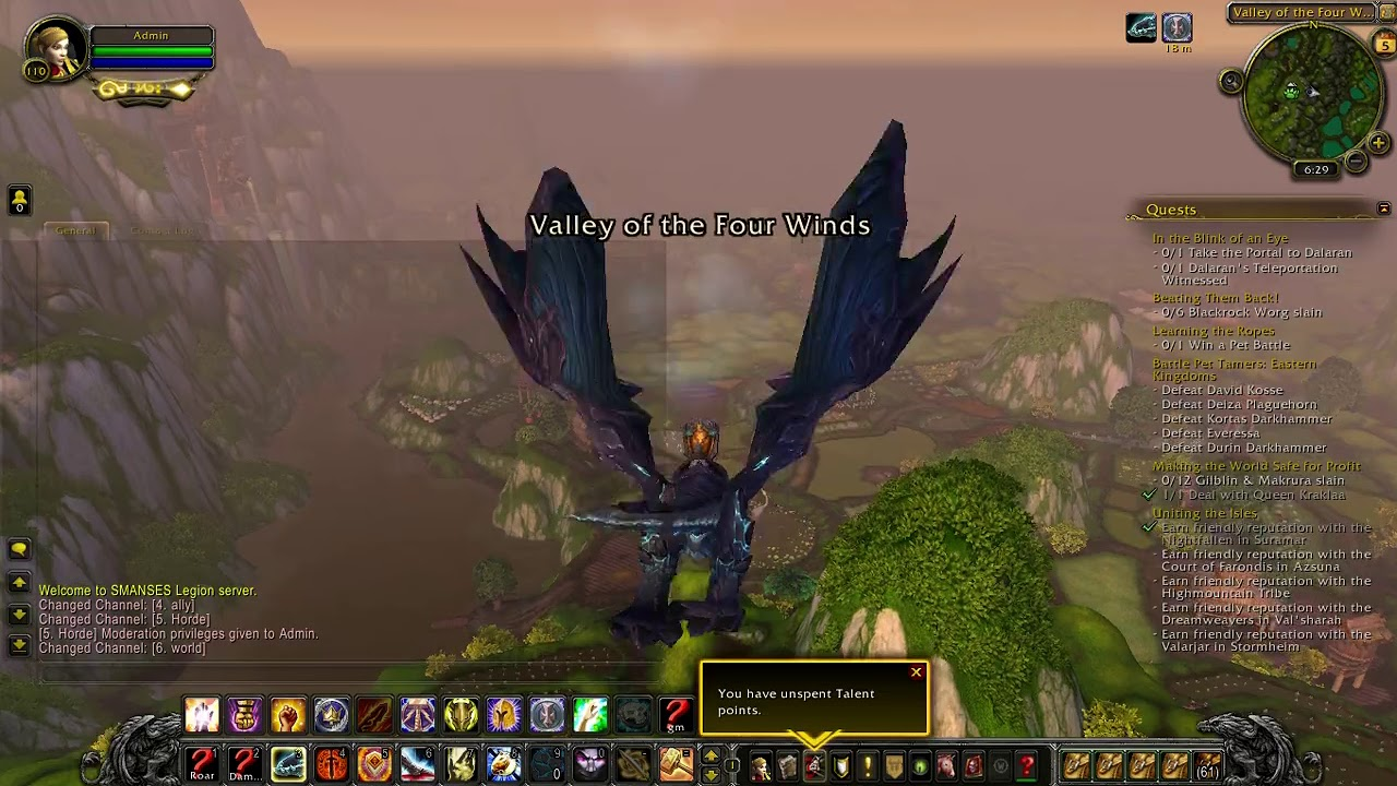 Legion SMANSES, World of Warcraft 7 3 5 Server Indonesia