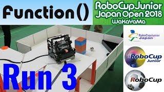 Robocup Junior 2018 Rescue Line Japan Open Run 3 | ロボカップジュニア レスキューライン 2018 ジャパンオープン3走目