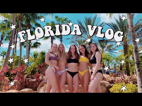Spring Break Vlog 2019 // Going To Miami With My Best Friends