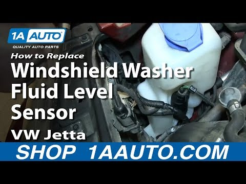 How to Replace Windshield Washer Fluid Level Sensor 00-06 Volkswagen Jetta or Golf