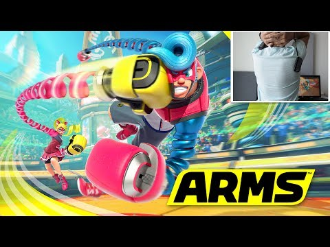 BACK CAM!!!! | ARMS (Nintendo Switch) | Fan Choice Friday