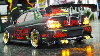 RC DRIFT RACE SCALE CARS IN DETAIL AND MOTION!! * REMOTE CONTROL DRIFT RACE CARS thumbnail