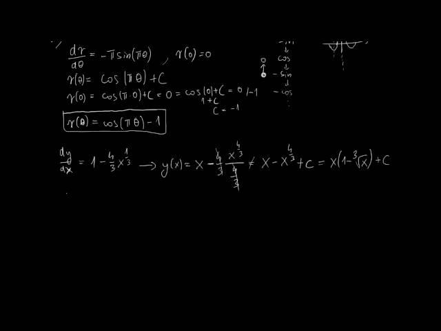 Primitív függvények - Megoldások [2. rész]