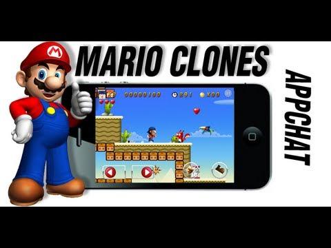 Mario on iPhone iPad iPod Touch ? (Mario Clones!)