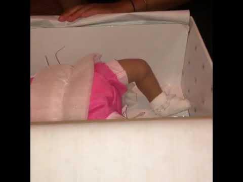 Ashton Drake silicone baby Tasha box opening