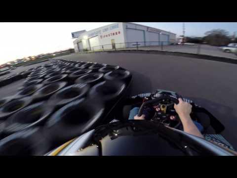 Rockstar Racing Outdoor Kart Track Counter clockwise