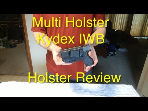 Honest Review of Multi Holsters' IWB Kydex Holster