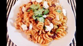Pasta- (Chicken Pasta with Tarka)