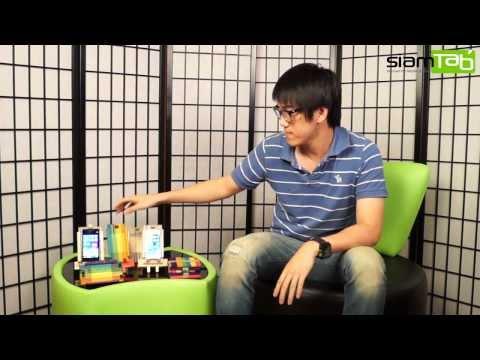 วิธีทำแท่นวางสมาร์ทโฟน Handmade จากไม้ไอติม by SiamTab