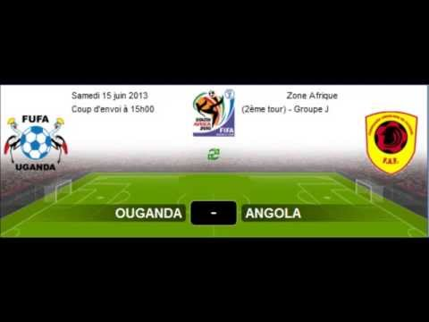 Ouganda vs Angola Buts Résumé  MATCH EN DIRECT OUGANDA VS ANGOLA  LE 15-06-2013